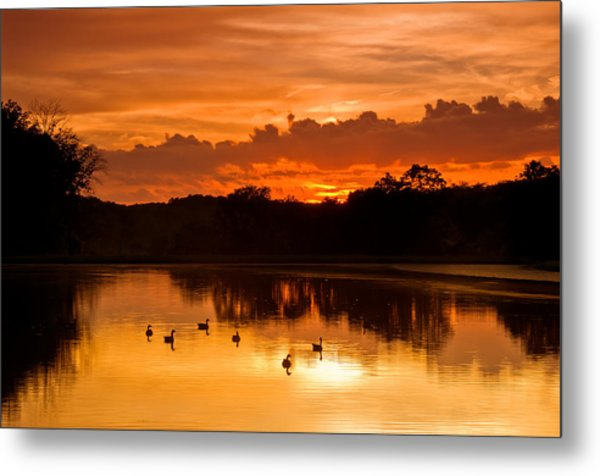 After The Storm..... Metal Print