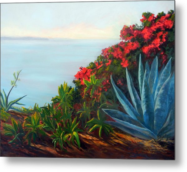 Afternoon Channel Metal Print by Dorothy Nalls