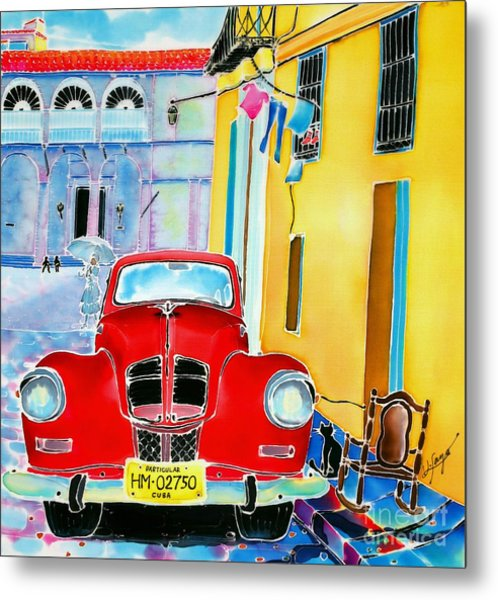 Afternoon In Havana Metal Print