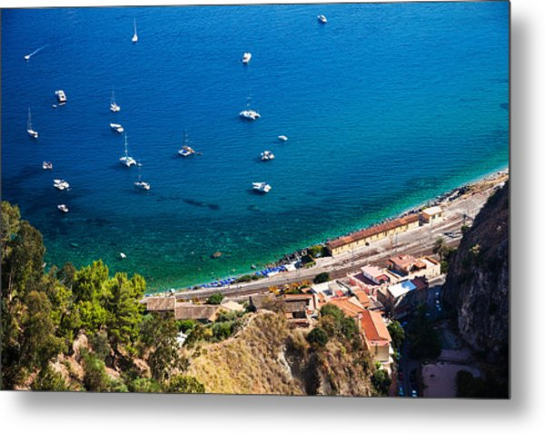 Afternoon In Taormina Metal Print