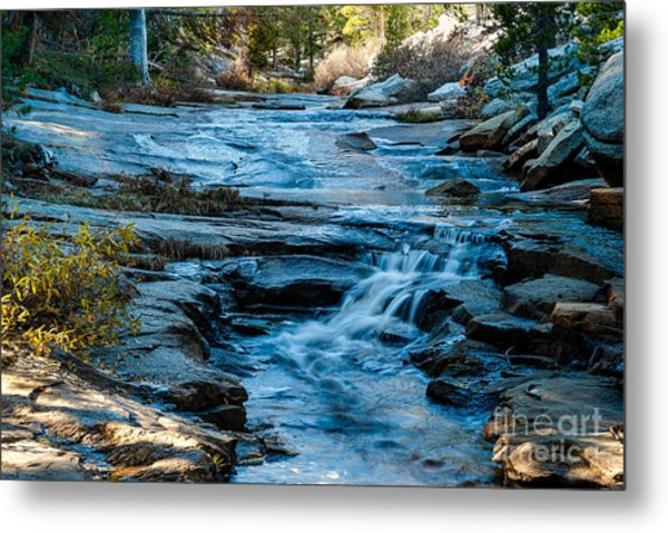 Afternoon Light On River. 1-7706  Metal Print