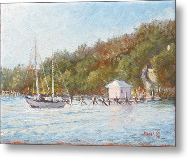 Afternoon On The Bay Metal Print