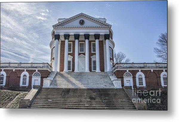 Afternoon Rotunda Metal Print