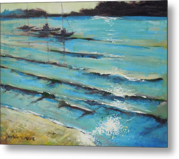 Afternoon Shoreline Metal Print