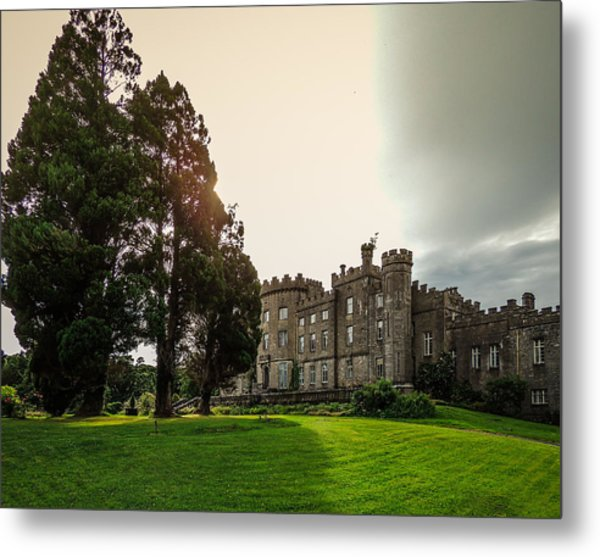 Afternoon Sun Over Markree Castle Metal Print