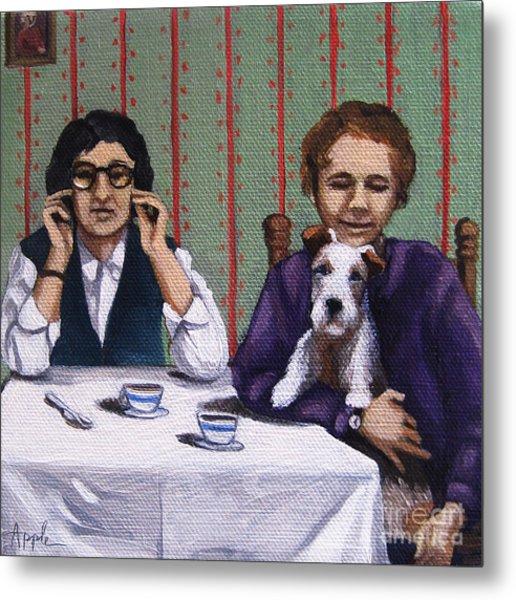 Afternoon Tea Metal Print by Linda Apple
