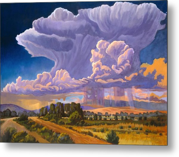 Afternoon Thunder Metal Print