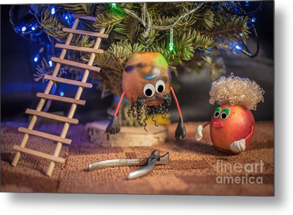 Again Why Do Not You Buy A New Garland Metal Print