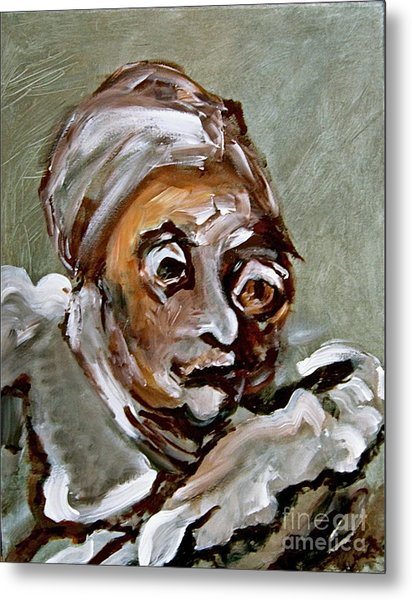 Agnes Metal Print by Michelle Dommer