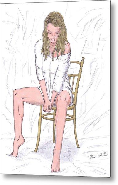 Agnieszka Metal Print by Steven White