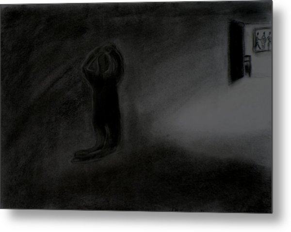 Agony Of The Outside World 1 Metal Print