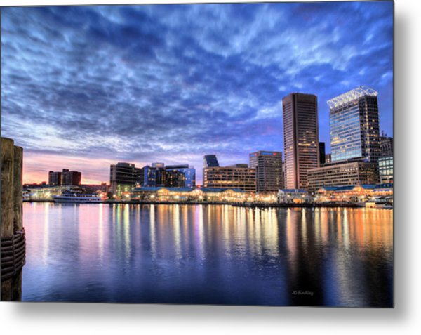 Ah Baltimore Metal Print