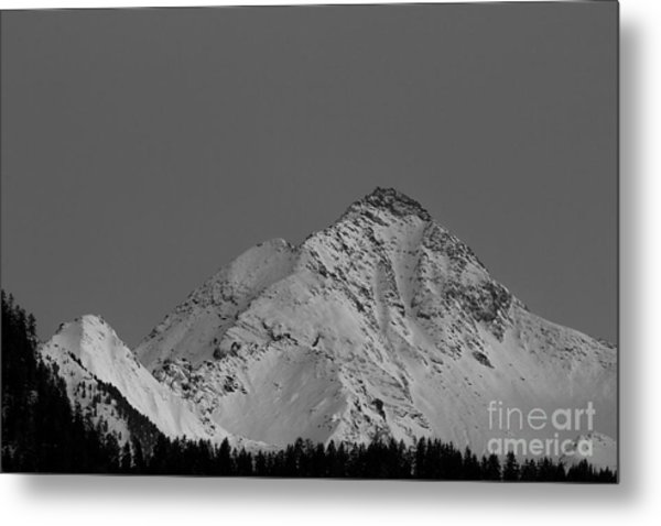 Ahornspitze After Midnight Metal Print