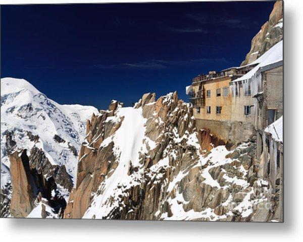Aiguille Du Midi -  Mont Blanc Massif Metal Print