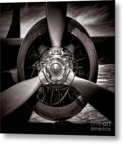 Air Power Metal Print