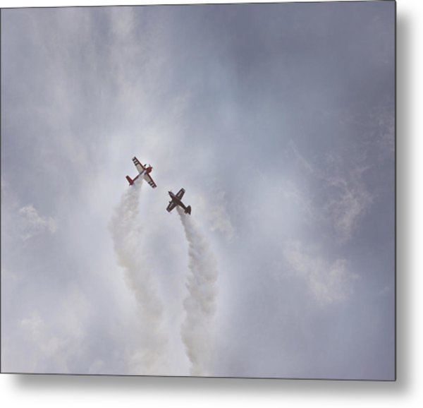 Air Show #3 Metal Print by Pat Abbott