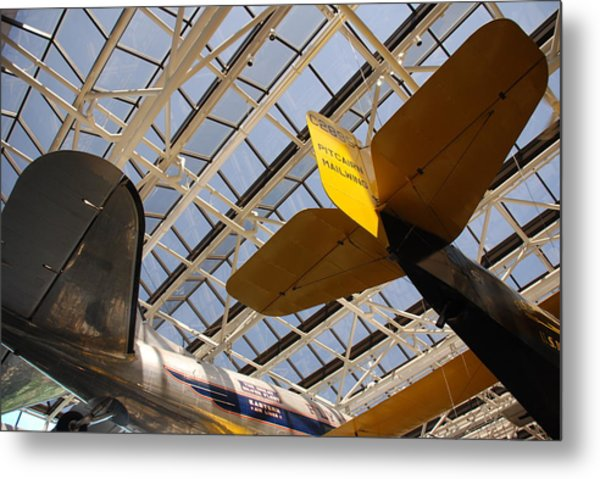 Airplane Rudders Metal Print