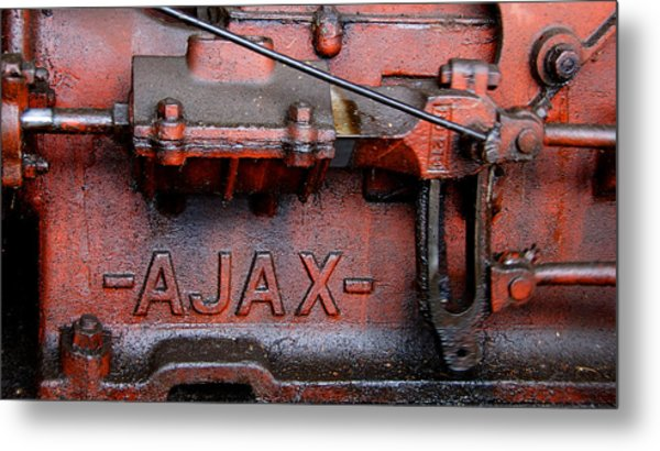 Ajax Engine Metal Print