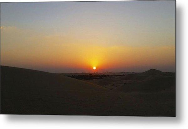 Al Ain Desert 15 Metal Print