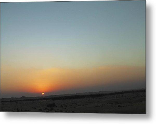 Al Ain Desert 2 Metal Print