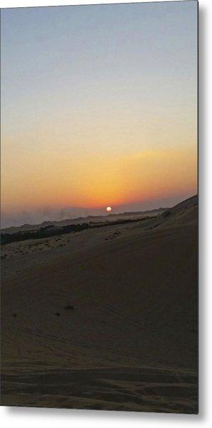 Al Ain Desert 20 Metal Print