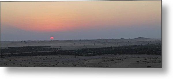 Al Ain Desert 7 Metal Print