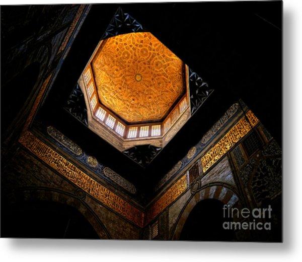 Al Ishaqi Mosque Metal Print