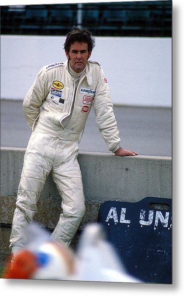 Al Unser At Indy Metal Print