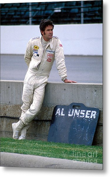 Al Unser Sr. At Indy Metal Print