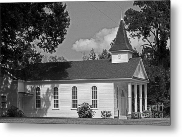 Alabama Church Metal Print by Kimberly Saulsberry