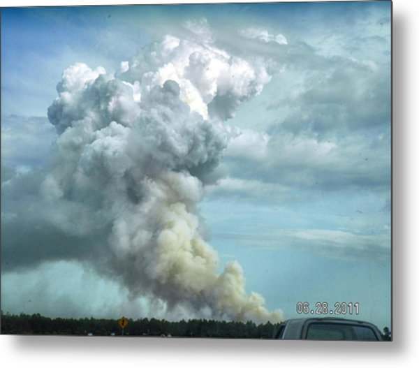 Alabama Fire Metal Print