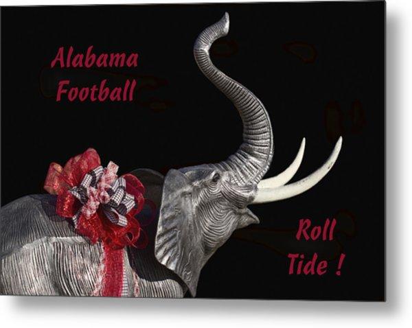 Alabama Football Roll Tide Metal Print