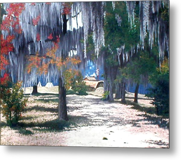 Alabama Fort Jackson Metal Print by Beth Parrish