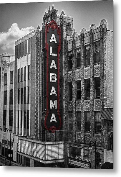 Alabama Theater Metal Print