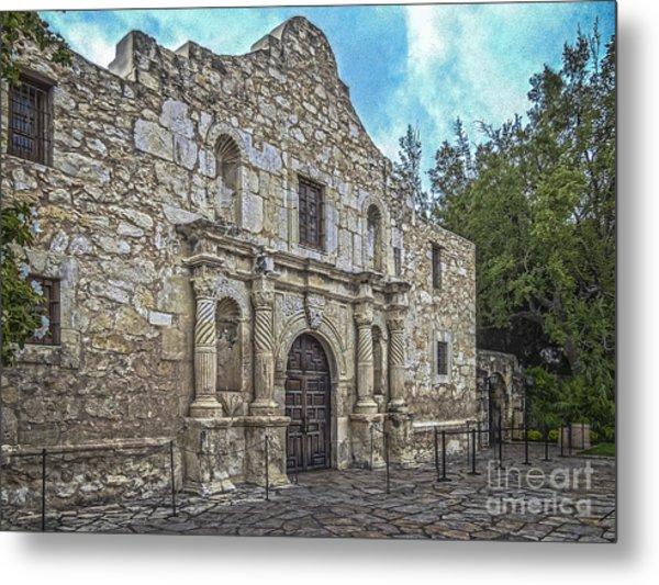Alamo Hdr Metal Print
