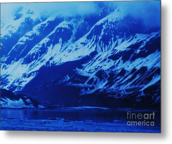 Alaska Blue Metal Print by Marcus Dagan