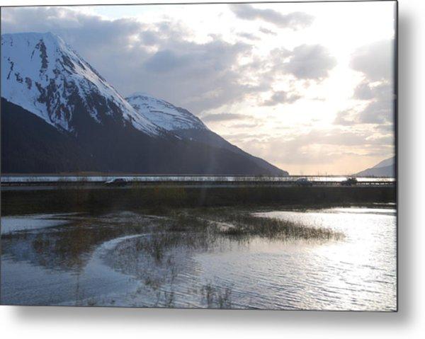 Alaska Highway Metal Print