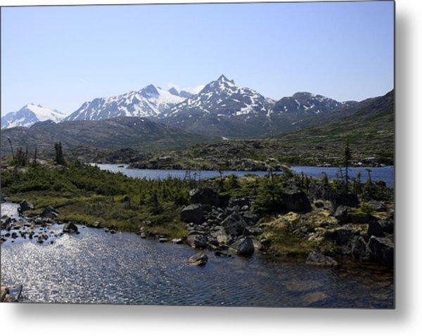 Alaska Landscape Metal Print