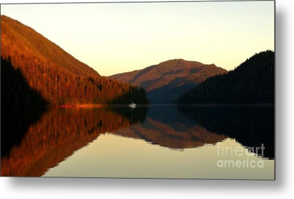 Alaskan Anchorage Metal Print