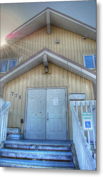 Alaskan Church Metal Print