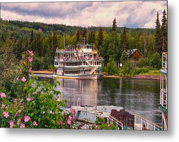 Alaskan Sternwheeler The Riverboat Discovery Metal Print