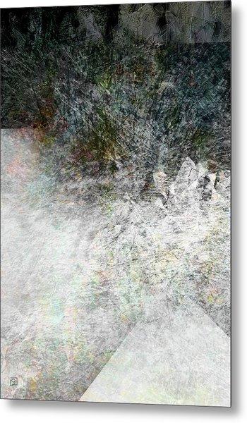 Alaskan Winter Melt Metal Print