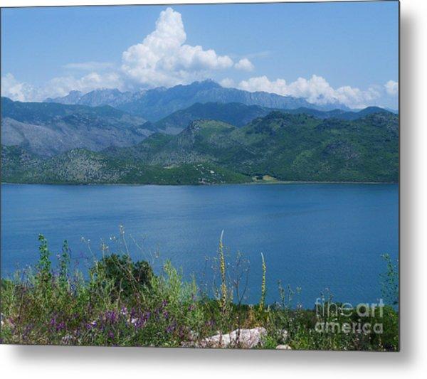 Albania From Lake Skadar Metal Print