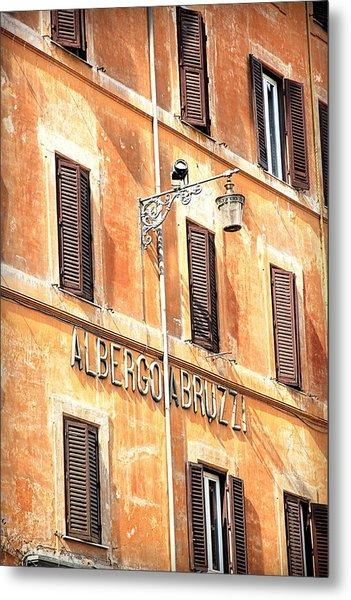 Albergo Abruzzi Metal Print