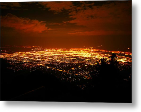 Albuquerque New Mexico  Metal Print