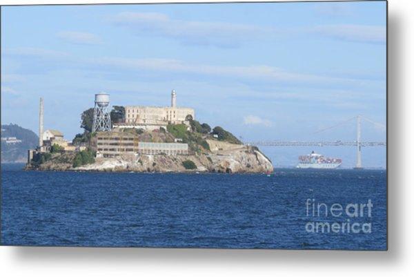 Alcatraz Island Metal Print