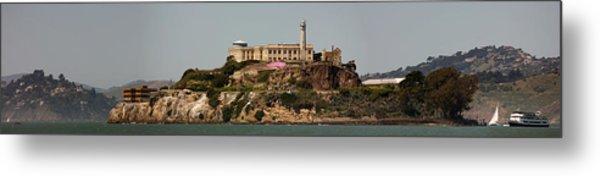 Alcatraz Panorama Metal Print