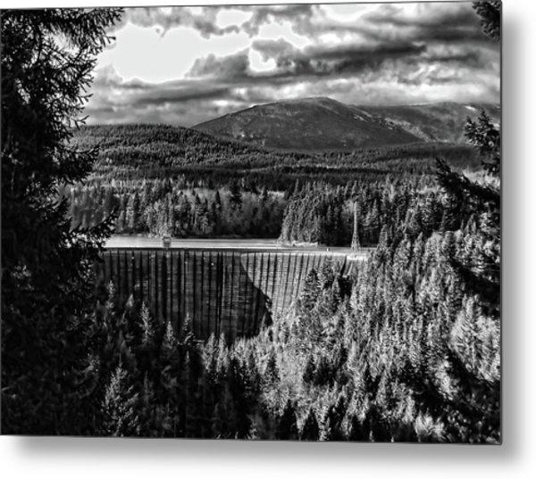 Alder Dam Near Mt Rainer Wa Metal Print