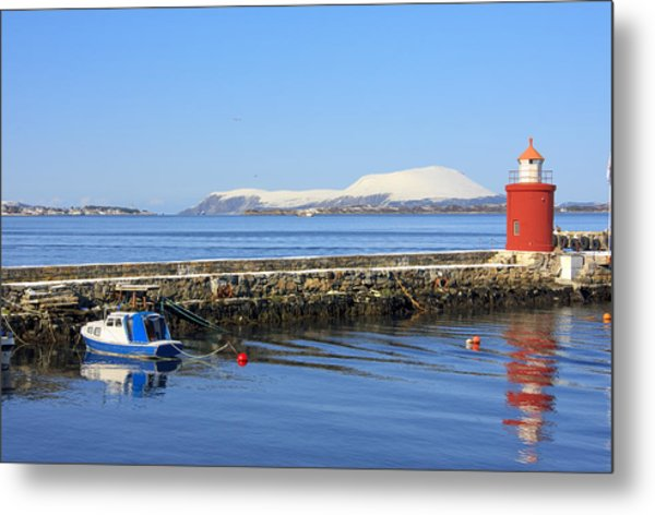 Alesund Lighthouse Metal Print