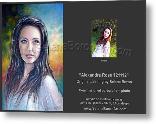 Alexandra Rose 121112 Metal Print